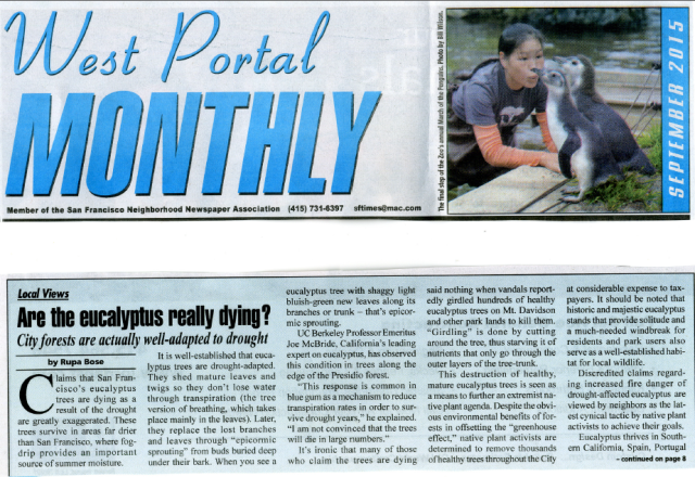 west portal monthly sept 2015