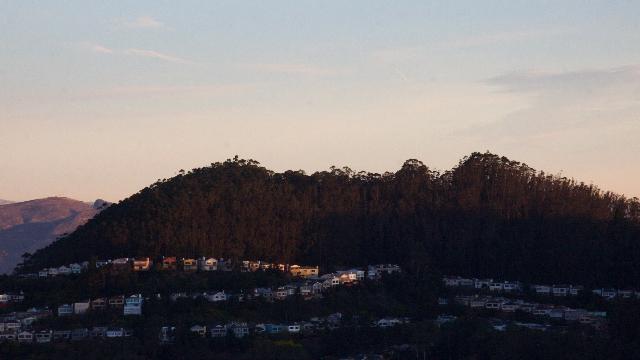 Mt Davidson at sunrise - Lori D'Ambrosio