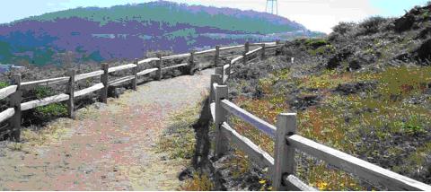 grandview park fenced trail
