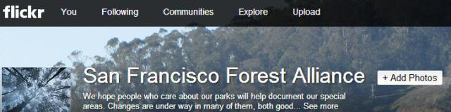 Forest Alliance Photo Sharing Site