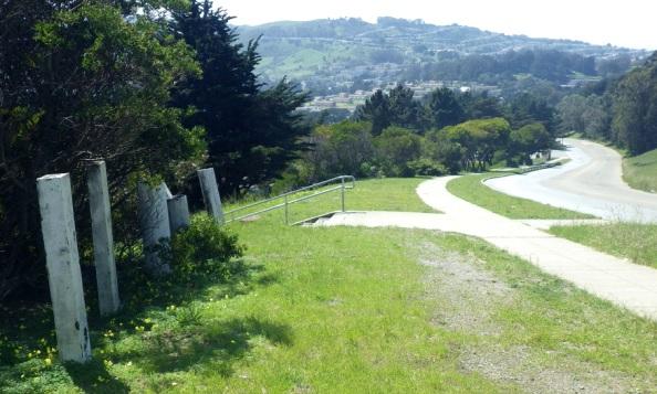 1 Starts from Visitacion Ave.