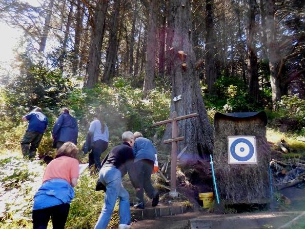 1 uphill trail in SF Archery range