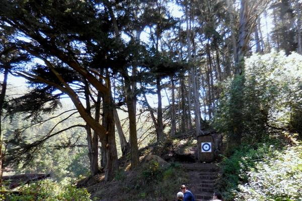 5 Target along trail - Sharp Park