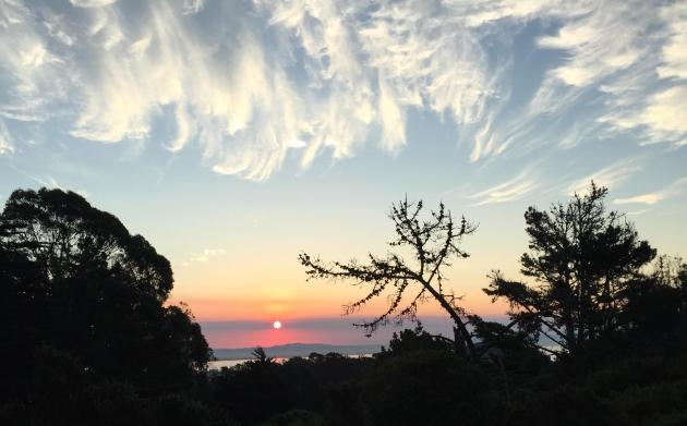 McLaren Park sunrise copyright Ren Volpe in San Francisco