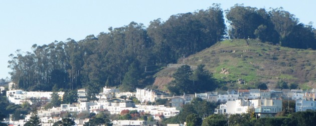 View looking west; Miraloma Park