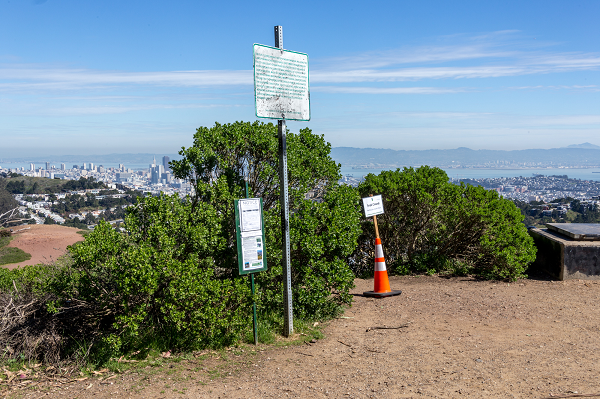 Pesticide Notice on Mt Davidson, San Francisco, CA - 2018
